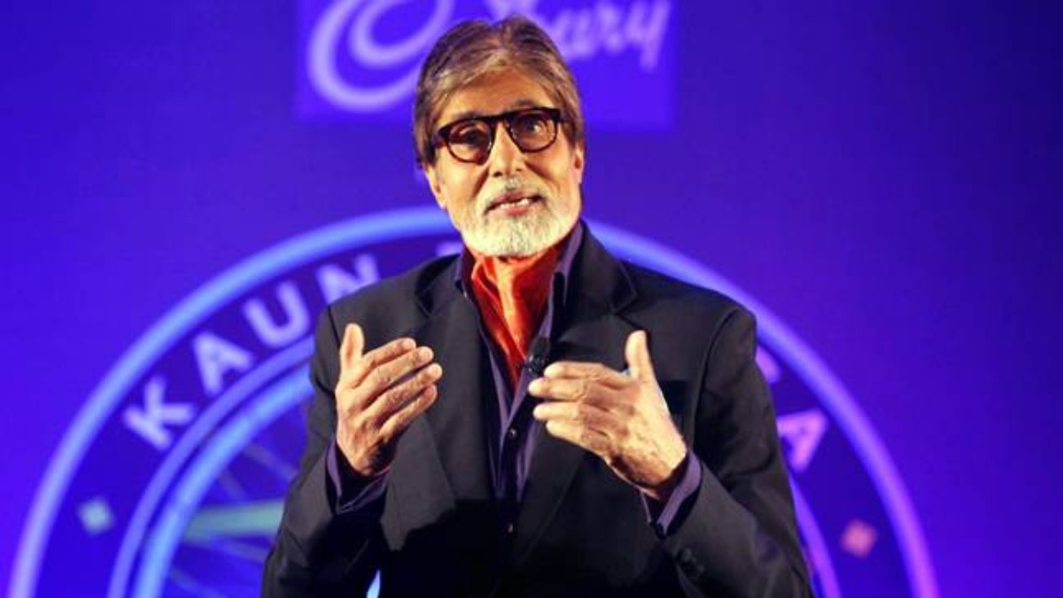 Amitabh Bachchan shares pictures from Kaun Banega Crorepati 12 sets, says 'work continues as must it should' | Celebrities News – India TV