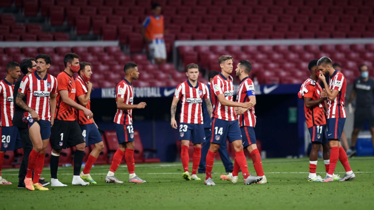 Champions League Two Atletico Madrid Players Test Positive For Covid 19 But Squad Cleared To Travel Football News India Tv