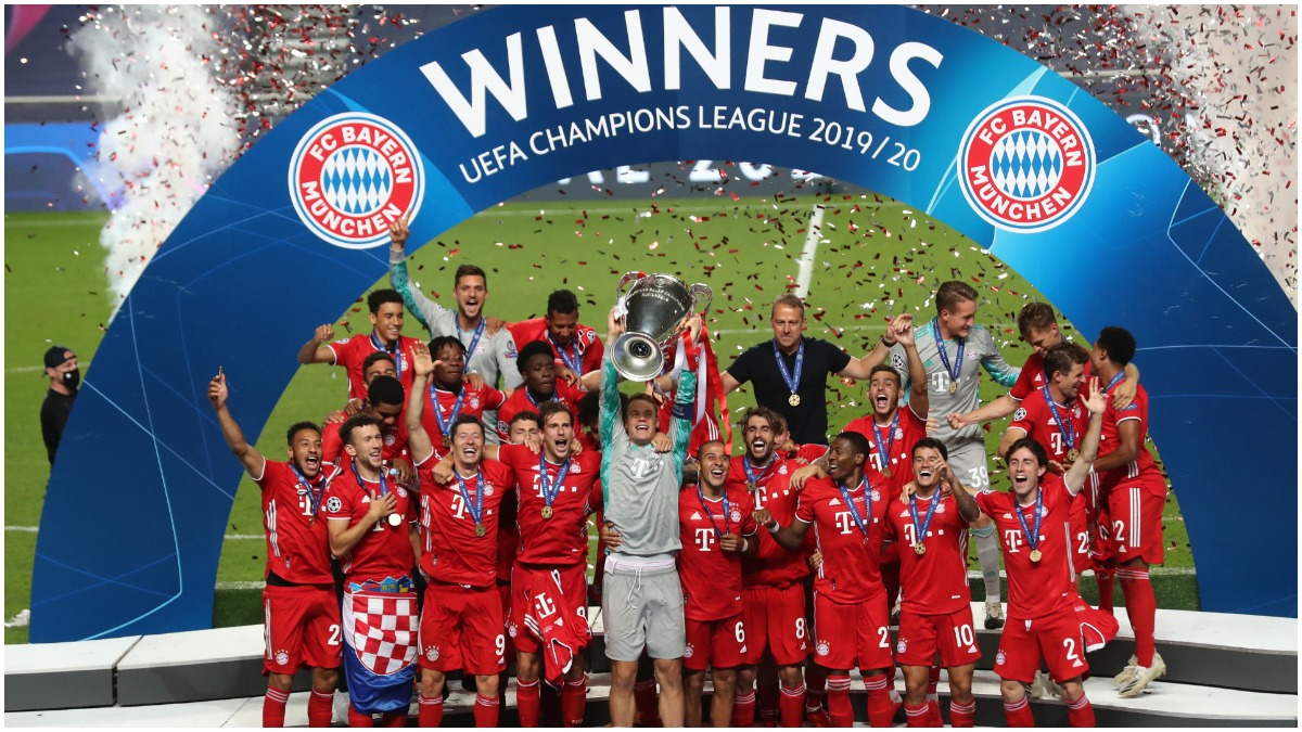 Bayern Munich Beat Psg 1 0 To Clinch Sixth Champions League Title Complete Second Treble Football News India Tv