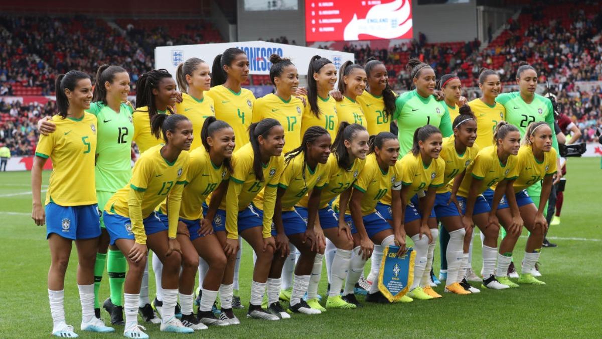 Brazil ends gender pay gap in national football team | Football ...