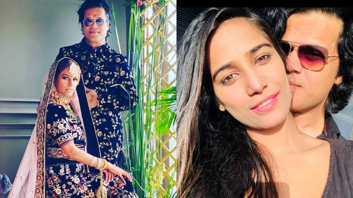 Poonam Pandey Gets Married To Boyfriend Sam Bombay Seen Their Wedding Pics Yet Celebrities News India Tv
