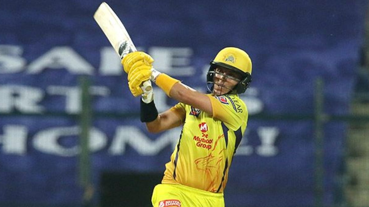 IPL 2020 CSK vs MI Sam Curran' fifty