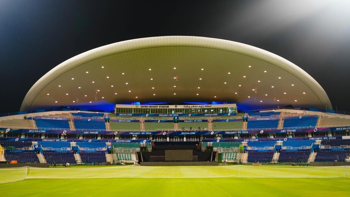 IPL 2020 | Jay Shah shares first pictures of Abu Dhabi's Sheikh Zayed Cricket Stadium as MI, CSK prepare for opener | Cricket News – India TV