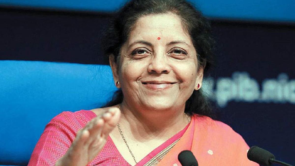 Bihar: Union Finance Minister and BJP leader Nirmala Sitharaman released BJP's manifesto for Bihar elections 2020, in Patna. COVID-19 vaccine