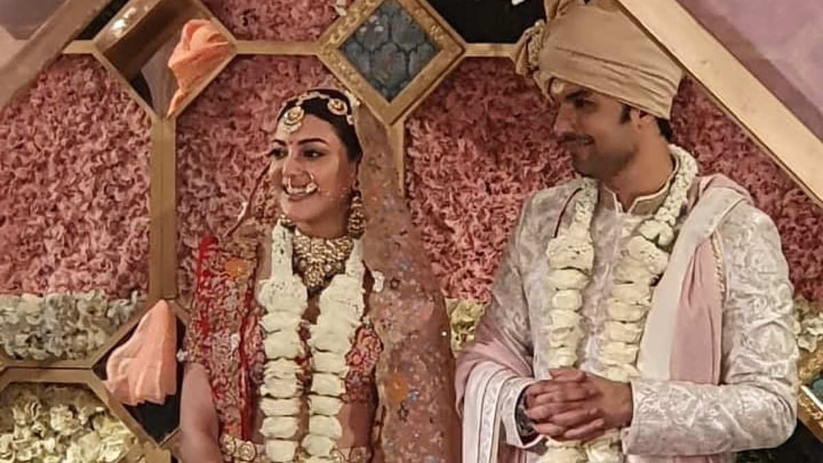 Kajal Aggarwal Weds Gautam Kitchlu: Dreamy inside photos from their  fairytale wedding   Celebrities News – India TV