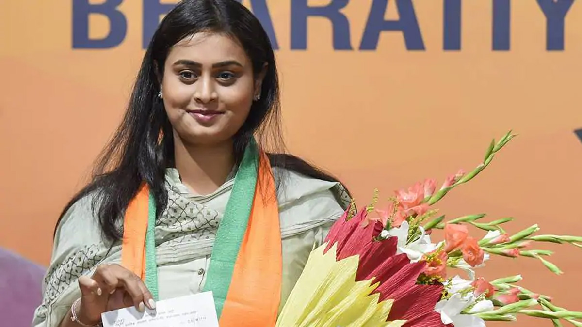 NDA bets high on CWG gold medallist Shreyasi Singh to wrest Jamui seat from RJD | Elections News – India TV