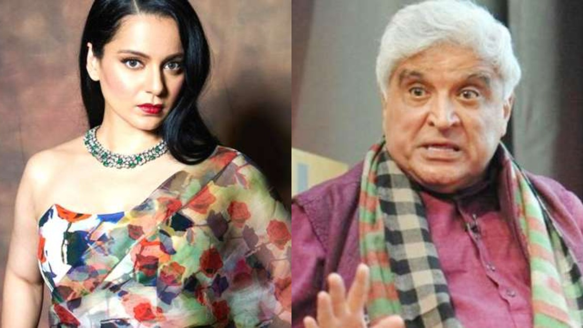 Javed Akhtar files defamation suit against Kangana Ranaut, actress reacts |  Celebrities News – India TV