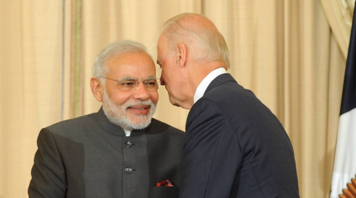 Pm Modi Joe Biden First Phone Call Covid 19 Pandemic Indo Pacific Climate Change Discussions India News India Tv