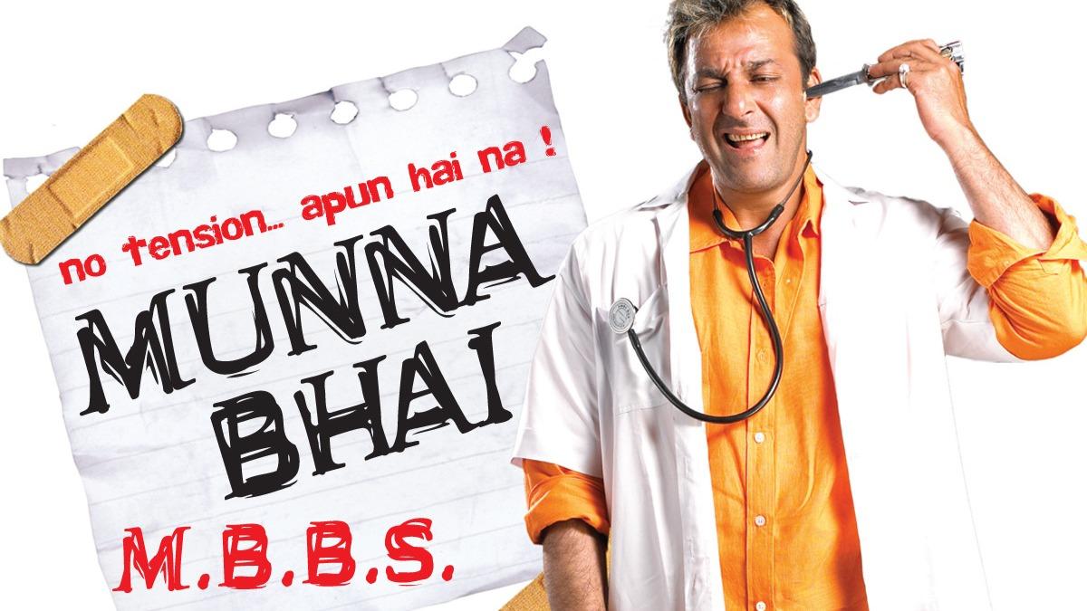 Munna Bhai MBBS turns 17: Things that are relevant even today; especially  Jaadu Ki Jhappi | Bollywood News – India TV