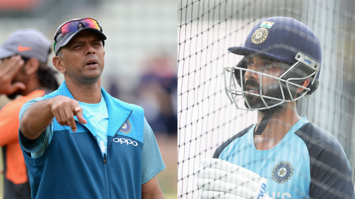 Don't bat a lot in nets': Rahane recalls phone-call from Rahul Dravid before Australia departure   Watch   Cricket News – India TV