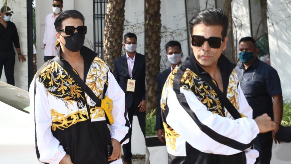 Varun Dhawan-Natasha Dalal Wedding: Filmmaker Karan Johar join in the festivities; check pics   Celebrities News – India TV