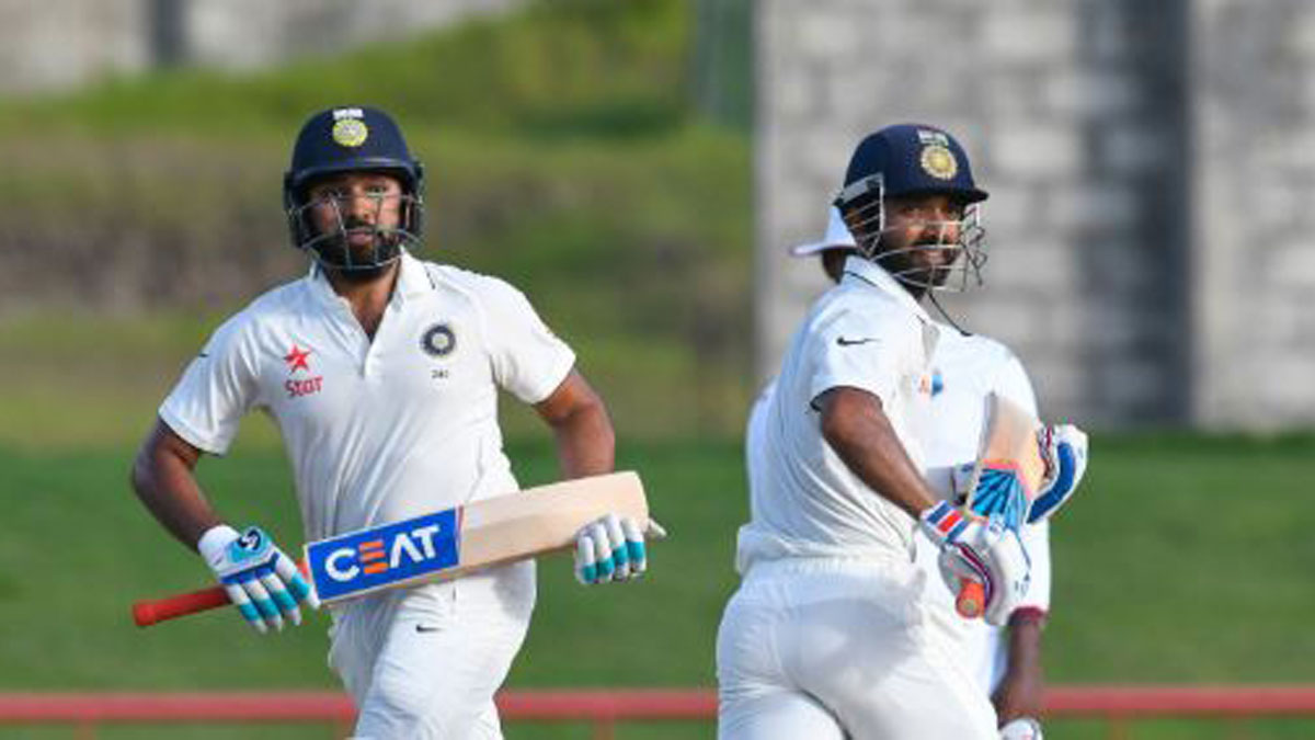 Image result for rahane and rohit sharma