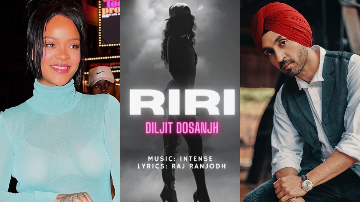Image result for diljit and rihanna