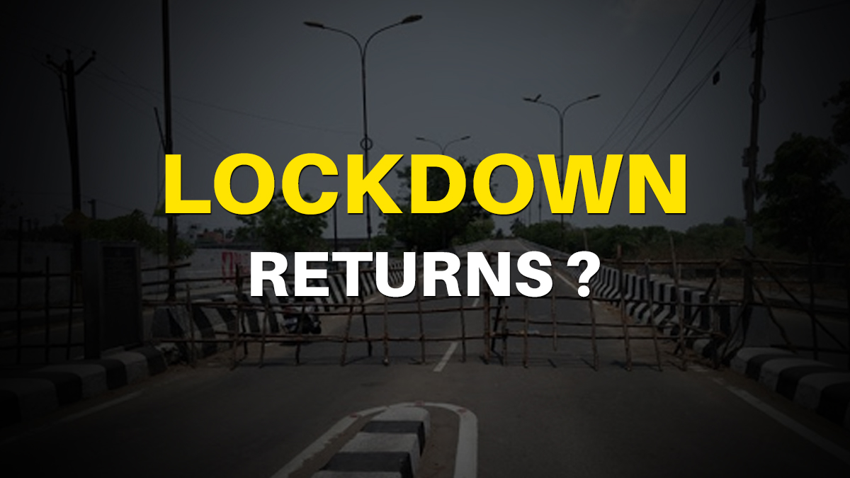 Lockdown Returns Govt 3-Day Lockdown News Latest What's The Truth | India  News – India TV