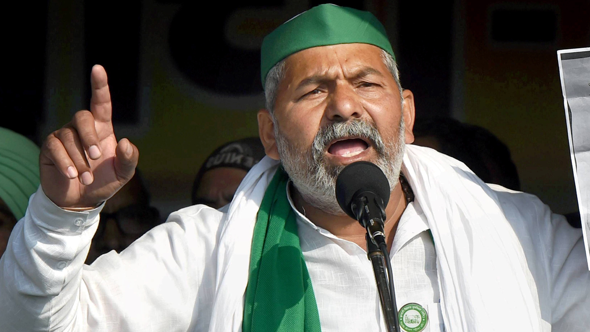 Farmers Protest: Amid call for 'black day' by farmers on May 26, Rakesh Tikait said that farmers will not be marching towards Delhi.