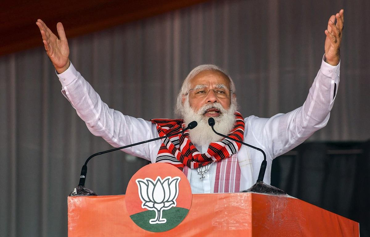 PM Modi attacks Congress assam polls rally NDA ensure peace development    Elections News – India TV