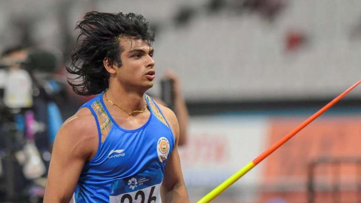 Olympic-bound Neeraj Chopra shatters own javelin throw national record at Indian Grand Prix   Other News – India TV