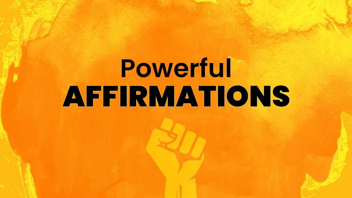 Feeling low? Here are powerful affirmations for your Life | People News –  India TV