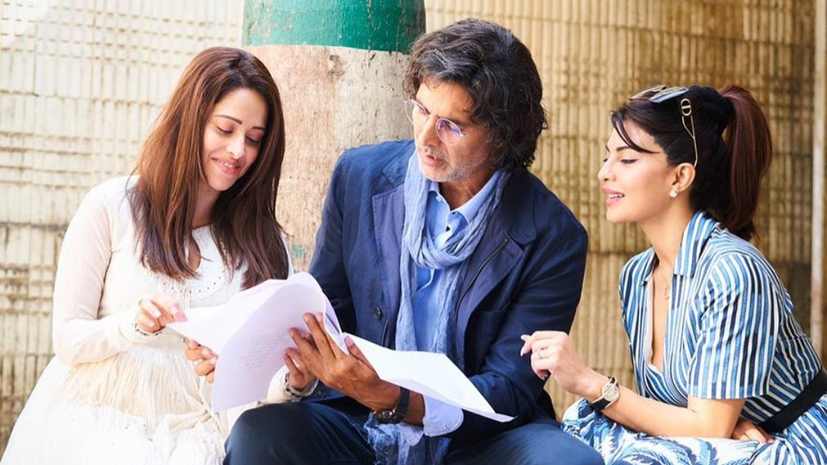 Jacqueline Fernandez, Nushrratt Bharuccha share glimpse from Ram Setu sets  | Celebrities News – India TV