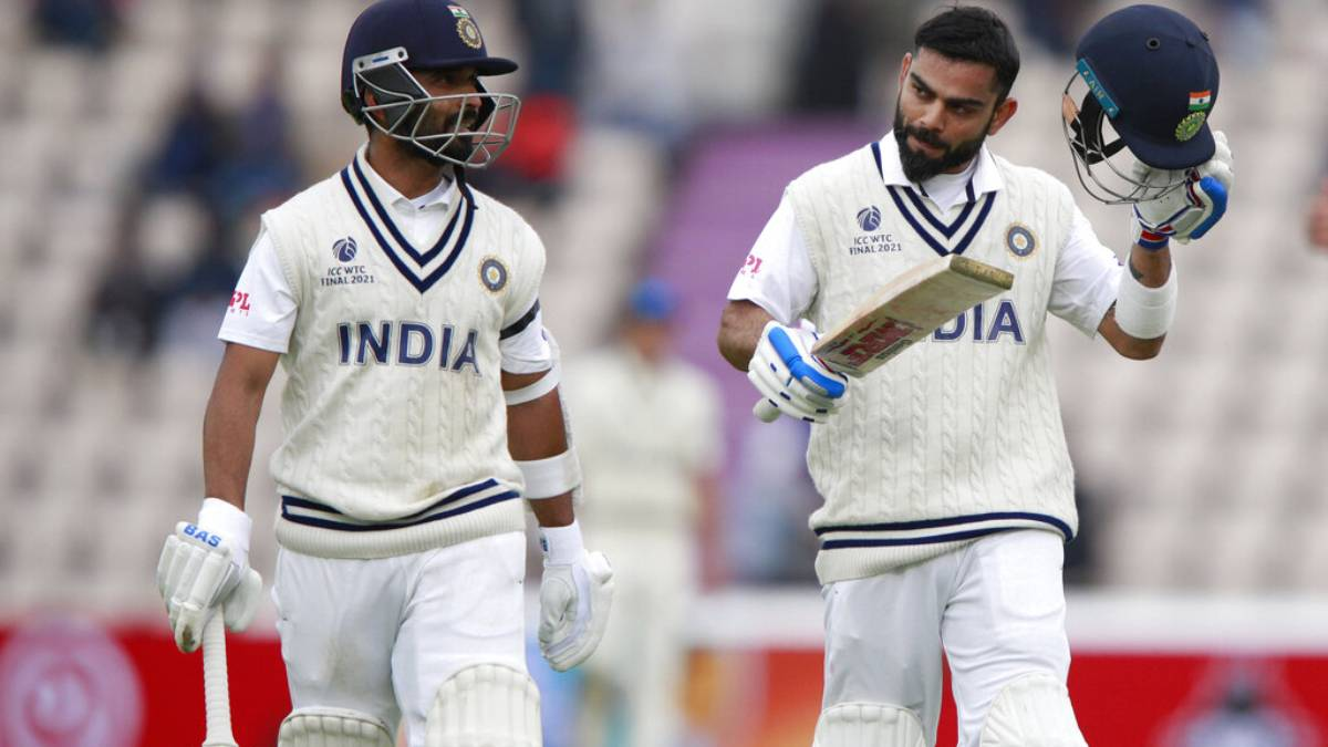 WTC Final   Virat Kohli equals Sunil Gavaskar's record, crosses 7500 Test runs   Cricket News – India TV
