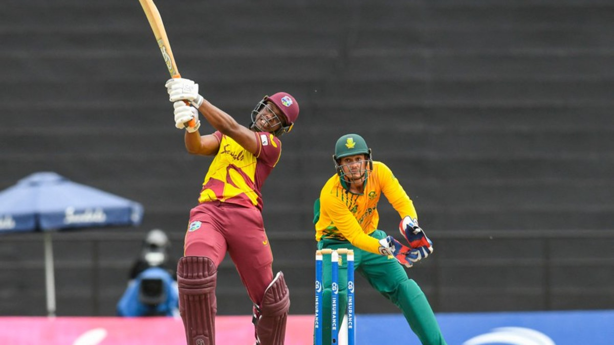 West Indies Vs South Africa Live Streaming How To Watch Wi Vs Sa 2nd T20i Live Online On Fancode Cricket News India Tv