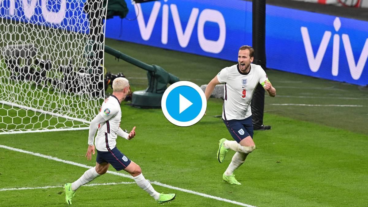 Euro 2020 Harry Kane Strikes Late As England Beat Denmark To Reach Final Watch Highlights Football News India Tv