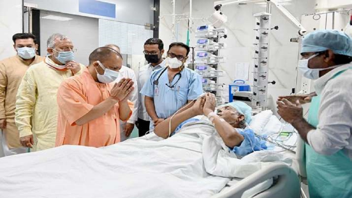 CM Yogi Adityanath to name cancer institute, medical college after Kalyan  Singh   India News – India TV