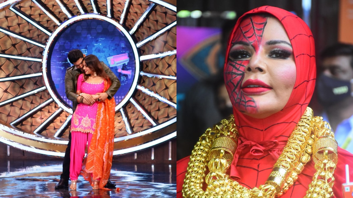 rakhi sawant spider woman