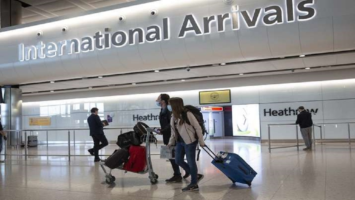 UK relaxes mandatory quarantine rule for fully vaccinated Indian passengers | World News – India TV