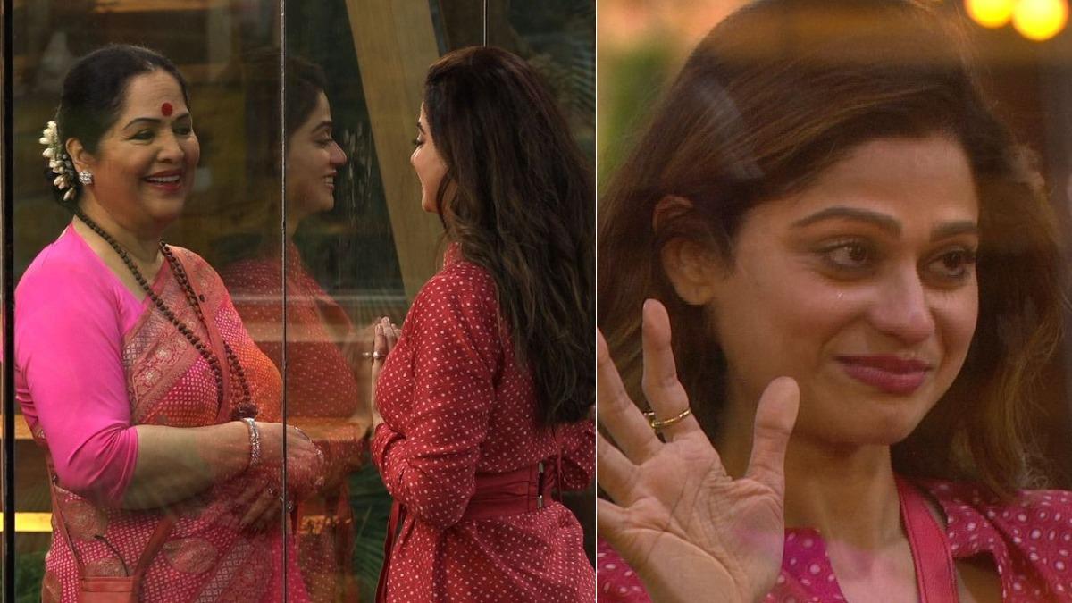 Shamita Shetty enquires about Raj Kundra's bail from mom Sunanda during Bigg Boss OTT family task | Tv News – India TV