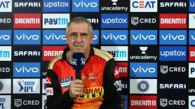 IPL 2021   Umpires got it right, says SRH coach Trevor Bayliss on Harshal Patel's full toss no-ball