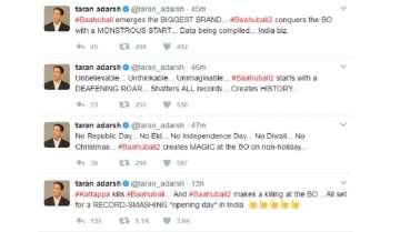 Baahubali 2 hits 100 crore on opening day? Here's what