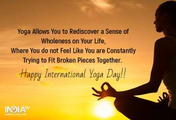 International Yoga Day 2019 Wishes Inspirational Quotes Whatsapp Status Facebook Messages Wallpapers Images Health News India Tv