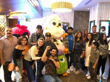Kapil Sharma Attends Angry Birds 2 Movie Screening With Pregnant