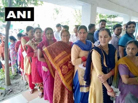 India Tv - Polling underway in Uttarakhand