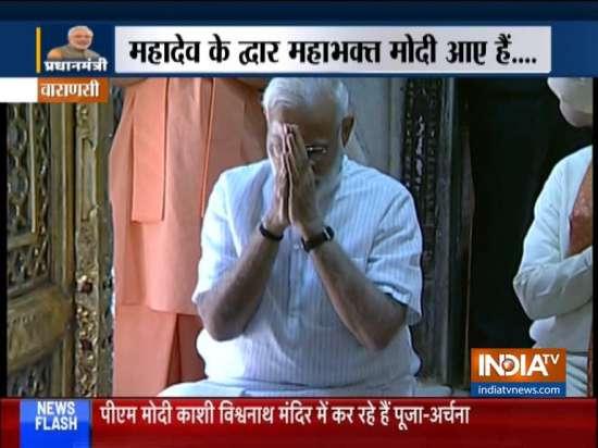 India Tv - PM Modi in Varanasi
