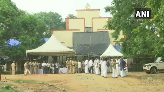 India Tv - Counting center in Wayanad