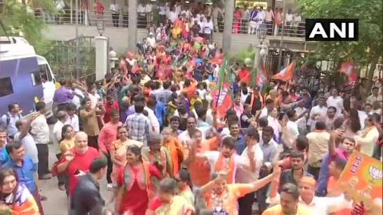 India Tv - Celebrations in Bengaluru