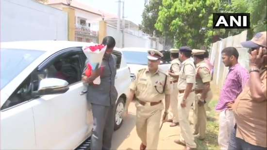 India Tv - Bureaucrats arrive at residence of Jaganmohan Reddy's residence