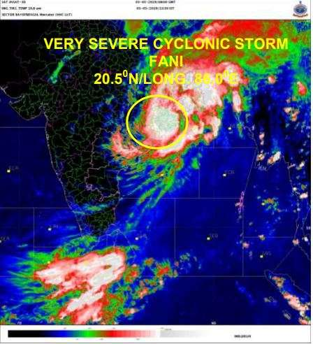 India Tv - Cyclone Fani