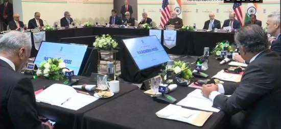 India Tv - PM Modi's round table meeting with oil sector CEOs | Highlights