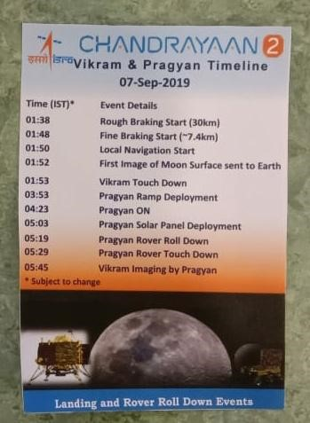 India Tv - Here's how things will unfold during Chandrayaan's moon landing