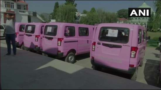 India Tv - Pink vehicles launched in Jammu and Kashmir