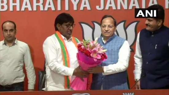 India Tv - Former UP & Haryana MLA Kartar Singh Bhadana joins Bharatiya Janata Party