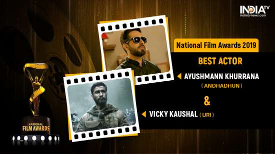 India Tv - National Film Awards 2019: Ayushmann Khurrana and