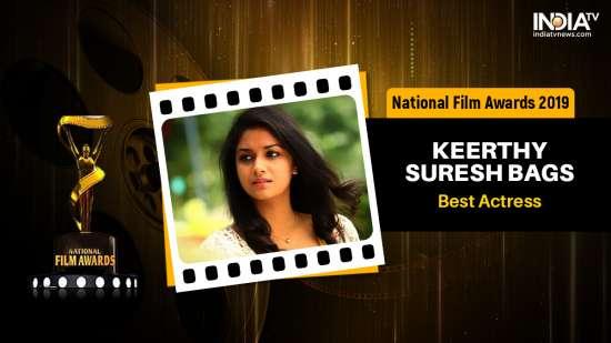 India Tv - National Film Award 2019: Keerthy Suresh bags Best