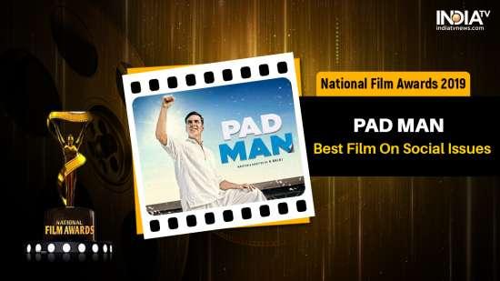 India Tv - Akshay Kumar honoured for PadMan