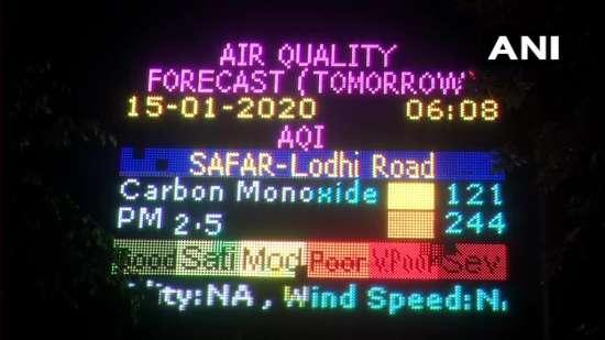India Tv - Delhi Air Quality Update