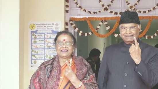 India Tv - President Kovind, Delhi Elections 2020