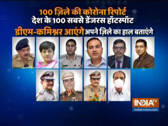 India Tv - India TV speaks to frontline officers at hotspot d